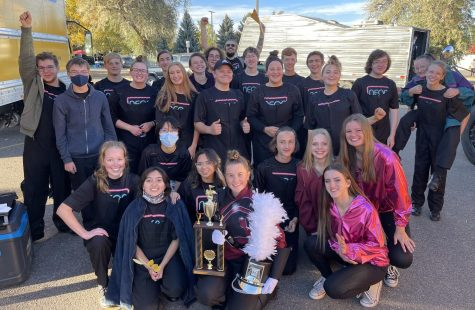 BHS Marching Band Earns Second at Regionals